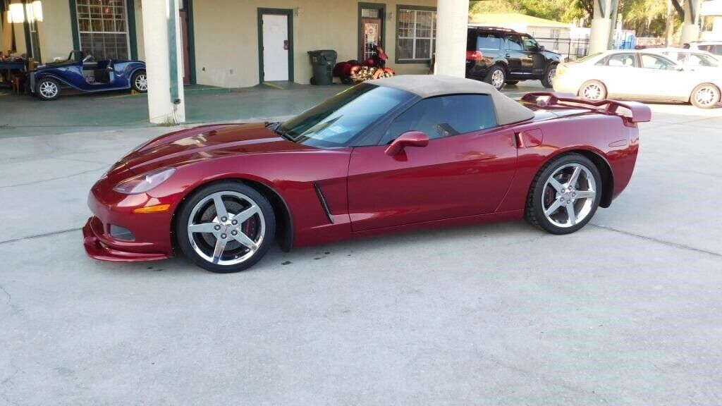 2005 Red Chevrolet Corvette   | C6 Corvette Photo 5