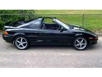 toyota mr2 twinport turbo t- bar convertible
