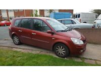 2008 7 seater Renault grand scenic very low mileage for diesel