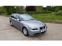 2004 BMW 530d Touring F/S/H+SAT NAV+XENON+LEATHER+LONG MOT EXCELLENT CONDITION