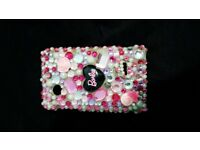 Barbie sequin sony Xperia Tipo phone case