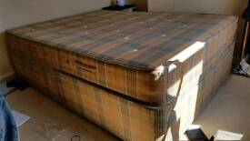 Double Bed Duplex and slumberpaedic mattress bought for £200