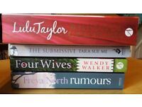 4 Romance books for sale