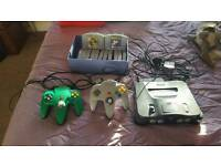 Nintendo 64 and 13 games with