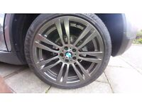 """20"""" Alloy Wheels and Tyres, BMW X6, X5, Range Rover and VW transporter"""