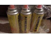 Marksman Butane Gas Canisters