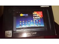 Medion 10.1 Android tablet brand new
