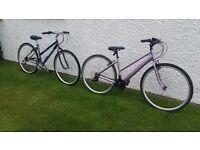 2 x Ladies Bikes