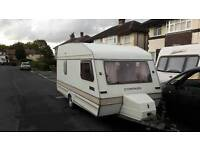 Old 4 berth caravan for project or spares.