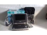 Hitachi Portable DVD player PDV 313