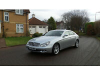2006 56 MERCEDES-BENZ CLS CLASS 3.0 CLS320 CDI 4d AUTO 222 BHP, LEATHER TRIM, SERVICE
