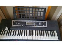 Yamaha keyboard ypt-210 hardly used for collection only