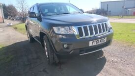 2011 Jeep Grand Cherokee 3.0 CRD V6 Limited Plus 4x4 DIESEL Auto