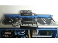 DJ Stand for cdj or turntables with storage