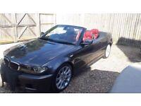BMW M SPORT 3 SERIES 2.2 CONVERTABLE CI 82600 MILES