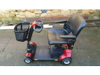 Pride gogo traveller mobility scooter vgc folds down