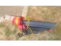 Cheap working leaf blower vac