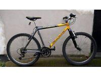 "Men's Claud Butler Hardtail 20"" frame front suspension mountain bike"