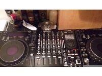 Pioneer cdj 1000 mk 3 numark 5000fx mixer