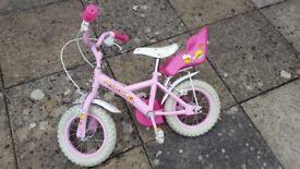 Halfords girls bike
