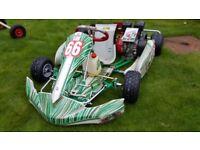 Tony Kart Honda Cadet GX160 with full kit bundle (excellent condition)