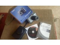 Pocket sized Stills & Video Digital Camera Canon PowerShot SX220 14 optical Zoom