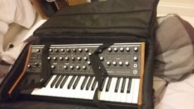 Moog sub 37 with gig bag