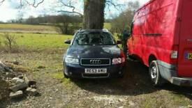 Audi A4 Estate 2.0FSI spare or repair