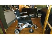Folding mobility scooter power chair