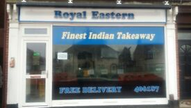 Takeaway Business for Sale (Indian Takeaway) Includes Rental Income from Flat above..