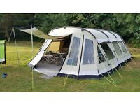 Outwell Clear Lake 5 Berth Polycotton Family Tent, Carpets and Footprint