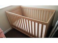 Three piece nursery furniture