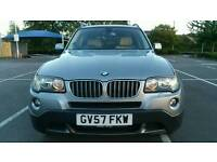 BMW X3 3.0 30d SE 5dr Full BMW Service history full leather Recent Service 6 MONTHS WARRANTY