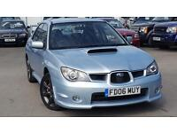 SUBARU IMPREZA WRX TURBO FANTASTIC LOOKING IMPREZA WRX (blue) 2006