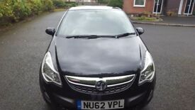 Vauxhall corsa for sale 998cc engine. 2012 plate. MOT til december, £30 a year road tax. £2,900