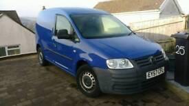 VW Caddy 2ltr SDI 66800 miles,air con