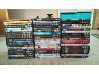 Collection of 56 dvd