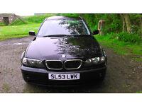 BMW 318i E46 Black £1000