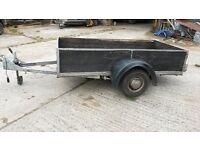Car trailer 2 wheels . Very useful light weight trailer 230 cm long 113cm wide