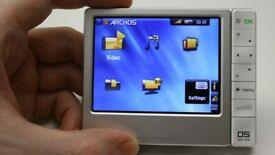 Archos 405 media player boxed and just opened.