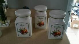 Johnson brothers fresh fruit jars