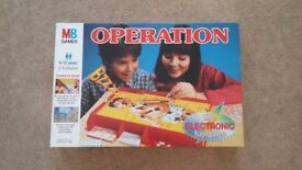 Toy game Operation for sale. All working. Excellent condition