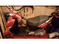 2003 electric moped with log book