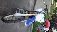 2008 yzf 250 trade for 450 plus cash