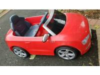 Children's ride on electric car, Audi 6v