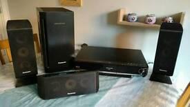 Panasonic Blu-ray and sound system