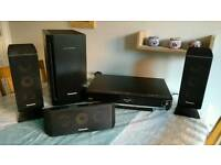 Panasonic Blu-ray and sound system