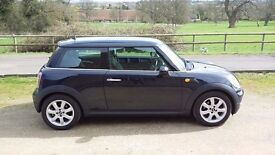 2007 MINI One. Two Previous Owners with Full Main Dealer Service History.
