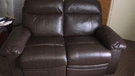 Leather 2Seater Recliner