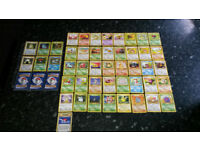 Pokemon cards - Complete Jungle common and uncommon set + 8 rare + 6 holo cards